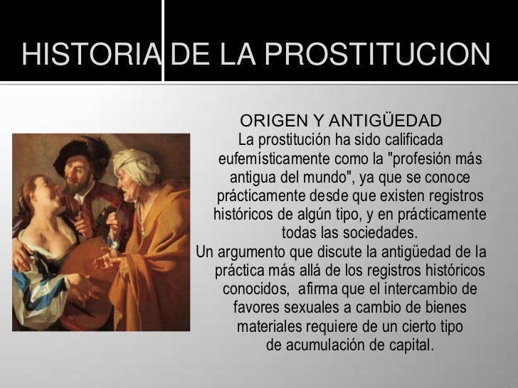prostitutas en chiclana historia de la prostitucion