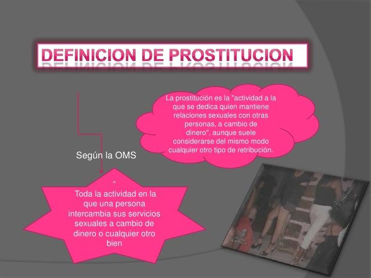 prostitutas animadas prostitución definición