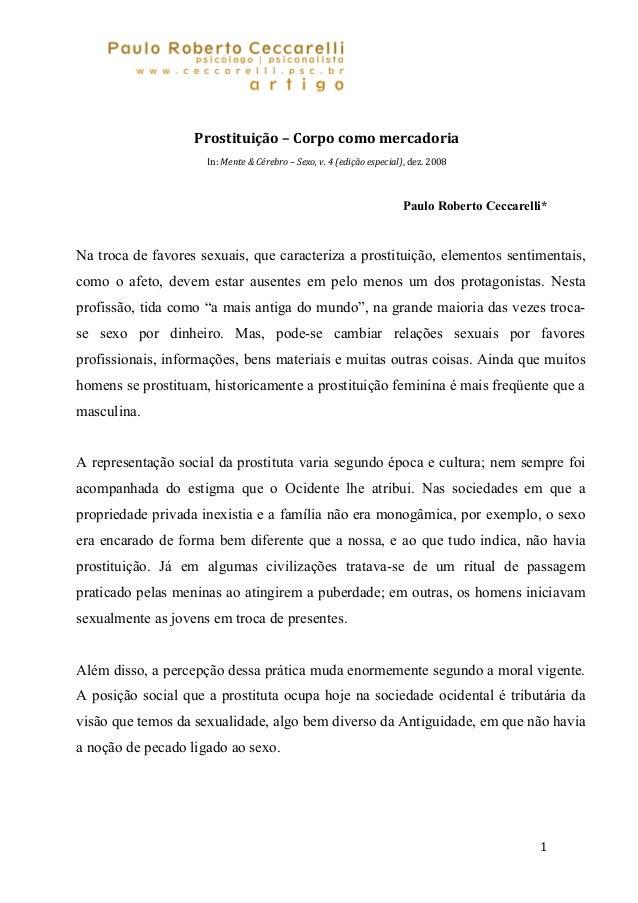Paulo Roberto Ceccarel i                      psicólogo   posicanalista     www.pceccarel i.com.br        artigos         ...