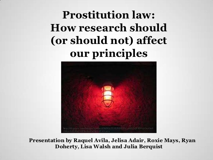 Prostitution law:       How research should       (or should not) affect           our principles            http://t0.gst...