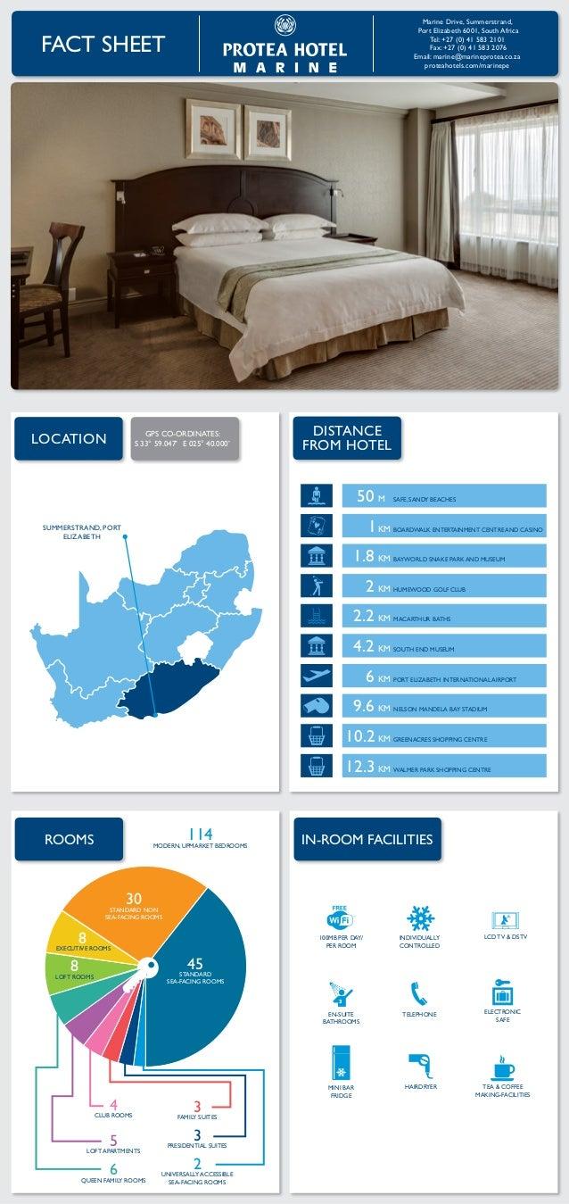 Protea Hotel Marine Fact Sheet