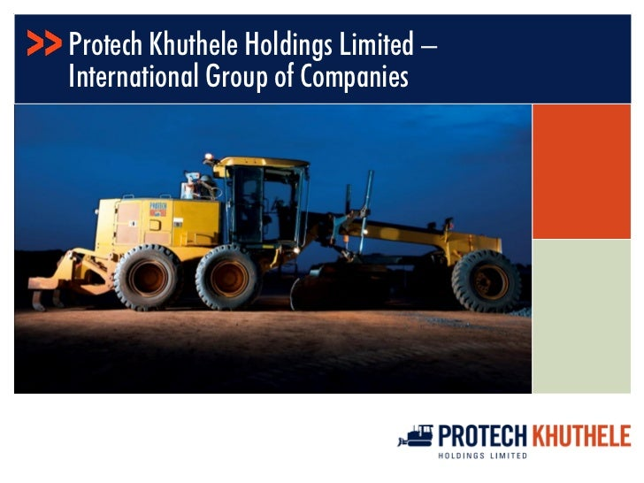 Protech Khuthele Holdings Limited –International Group of Companies