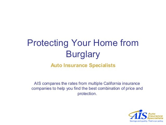 Protecting Your Home from Burglary