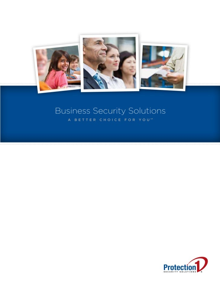 PROBLEM: LARGER SECURITY COMPANIES DON'T PAY ATTENTION.                   SMALL COMPANIES ARESTRETCHED TOO THIN.          ...
