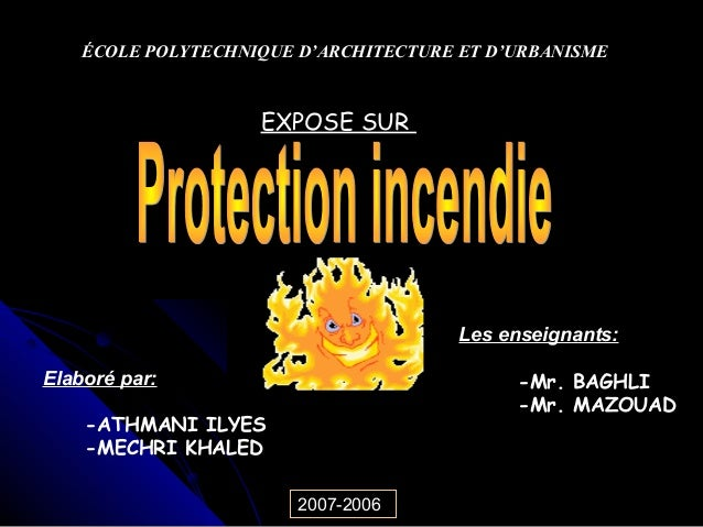 ÉCOLE POLYTECHNIQUE D'ARCHITECTURE ET D'URBANISME  EXPOSE SUR  Les enseignants: -Mr. BAGHLI -Mr. MAZOUAD  Elaboré par: -AT...