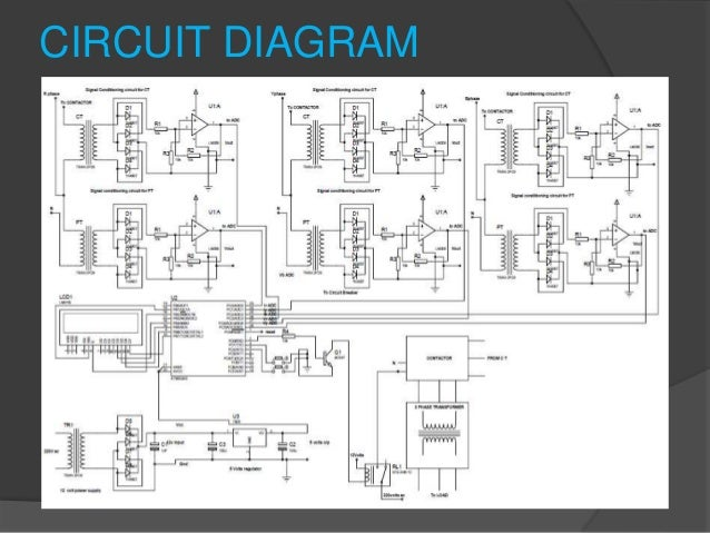 basic protection of transformer using microcontroller