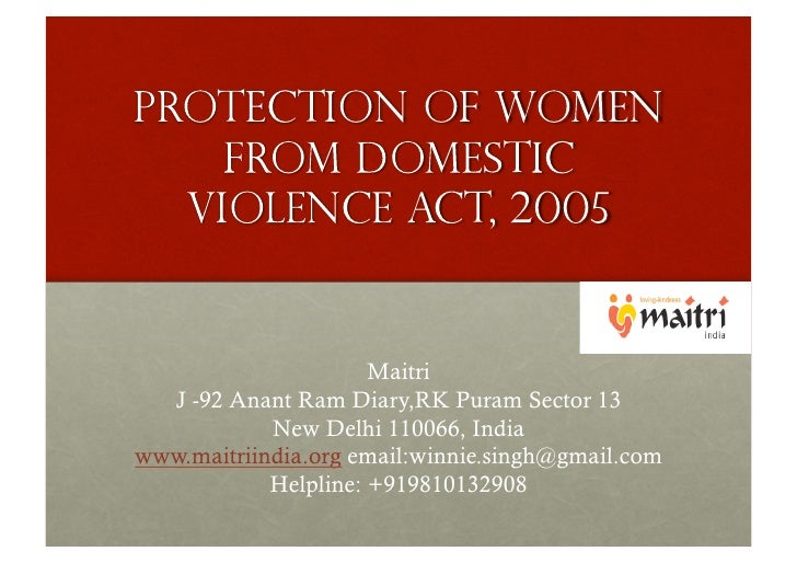 essay on domestic violence act 2005 Domestic violence domestic violence is commonly considered as mistreatment of women however, there are other forms of domestic violence that also affect men, women, and children domestic violence occurs in different forms of not only sexual abuse, but also physical abuse, and mental abuse.