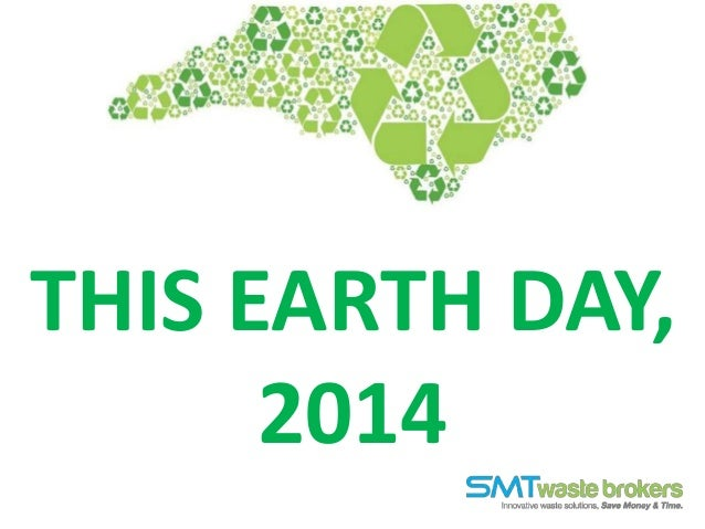 THIS EARTH DAY, 2014