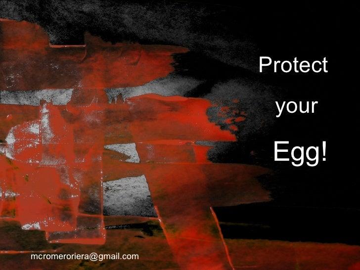 Protect                           your                           Egg!mcromeroriera@gmail.com