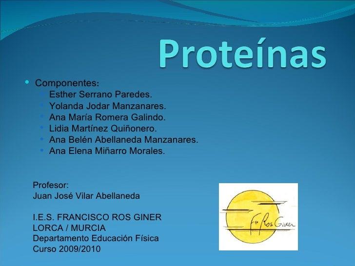 <ul><li>Componentes : </li></ul><ul><ul><li>Esther Serrano Paredes. </li></ul></ul><ul><ul><li>Yolanda Jodar Manzanares. <...