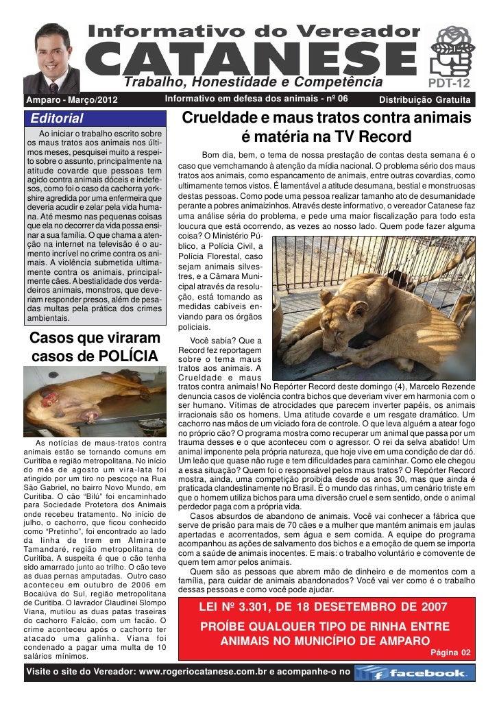 Proteção aos animais   15