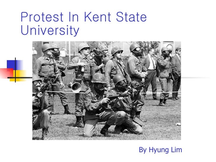 Protest In Kent State University By Hyung Lim