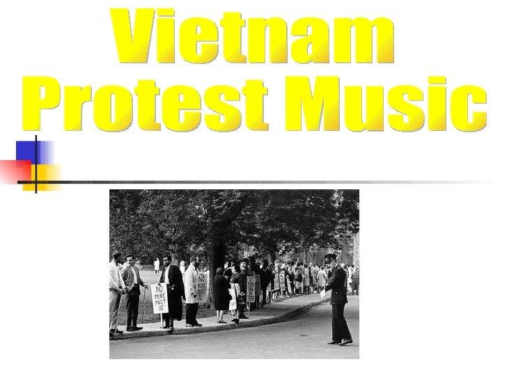 Vietnam  Protest Music