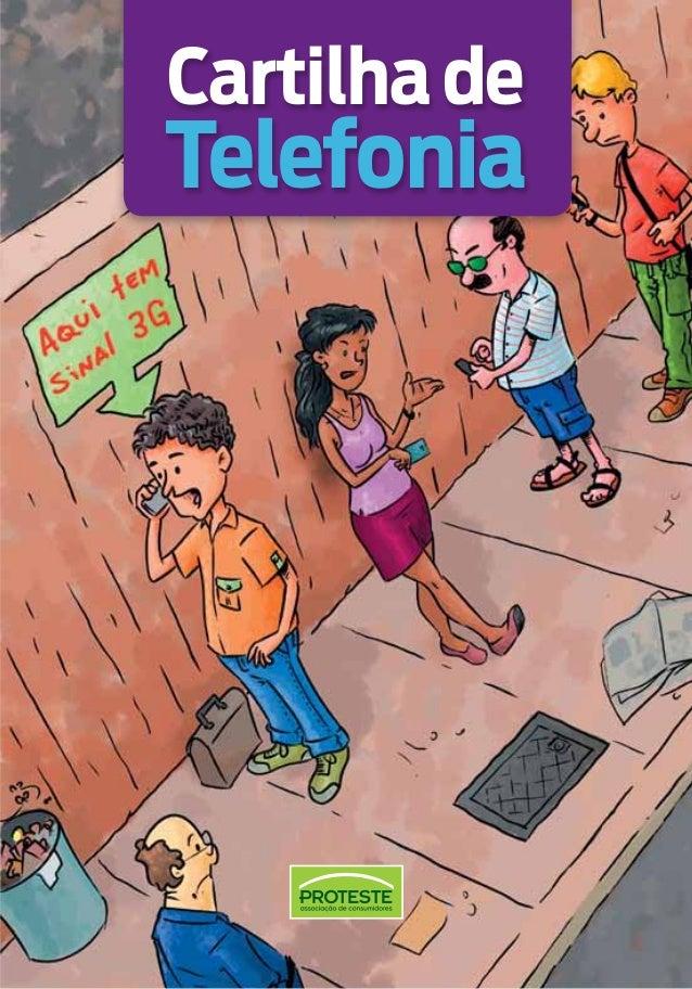 Cartilha de direitos do usuário de telefonia