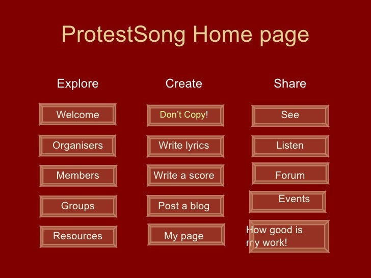 Protest Song Community Storyboard   Final