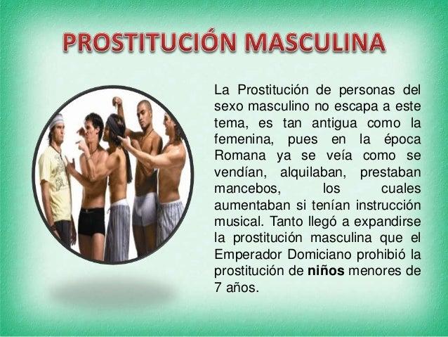 prostitución femenina scorts masculinos
