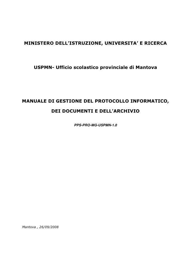 Protocollo informatico manuale_usp_mantova