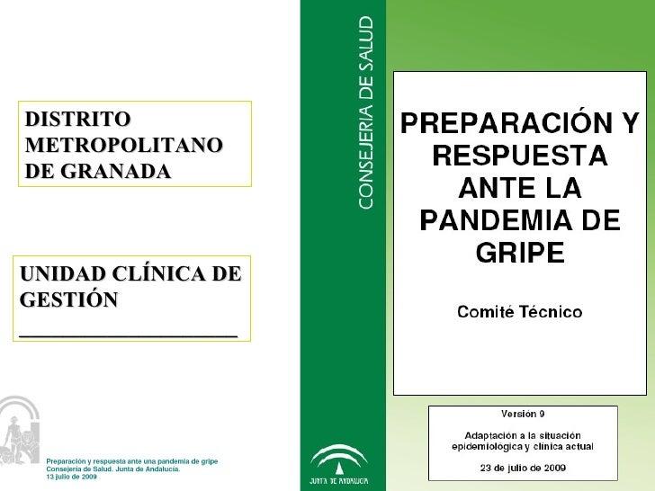 Protocolo de actuación gripe A