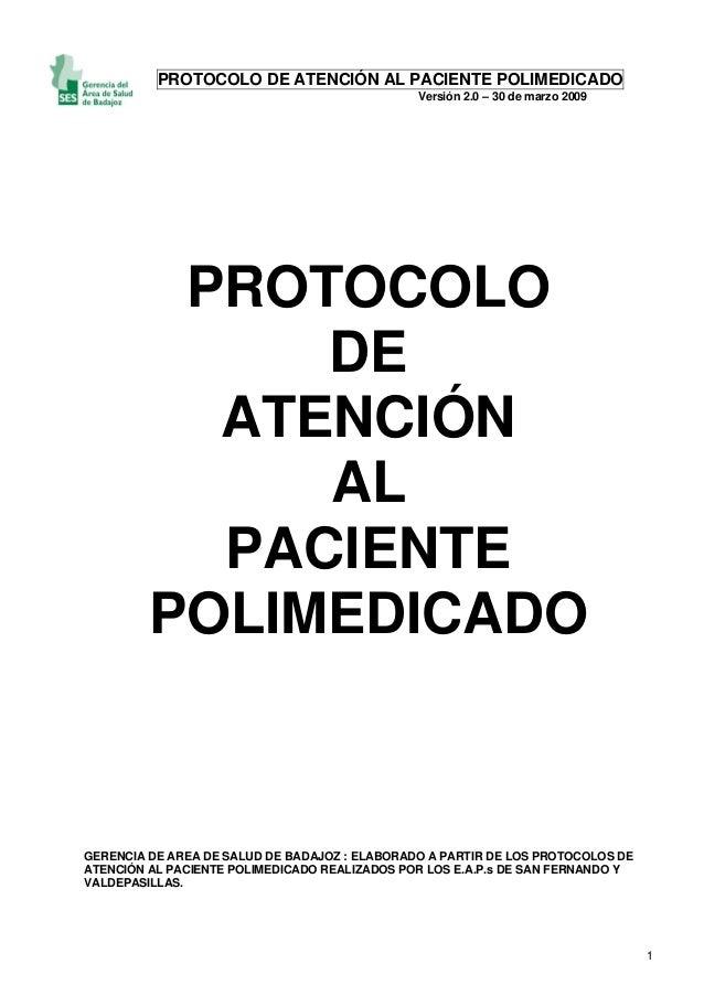 Protocolo atencion polimedicado