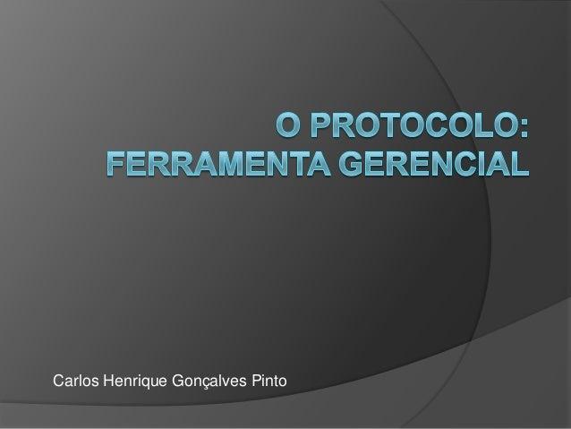 Carlos Henrique Gonçalves Pinto