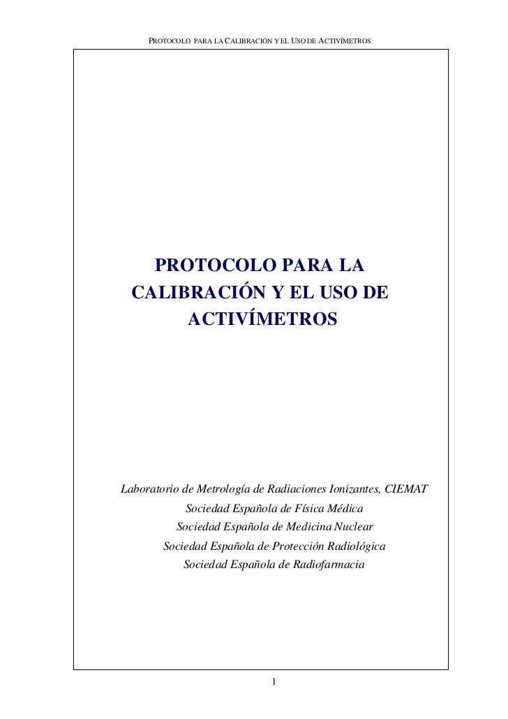 Protocolocalibracionactivimetrosv151