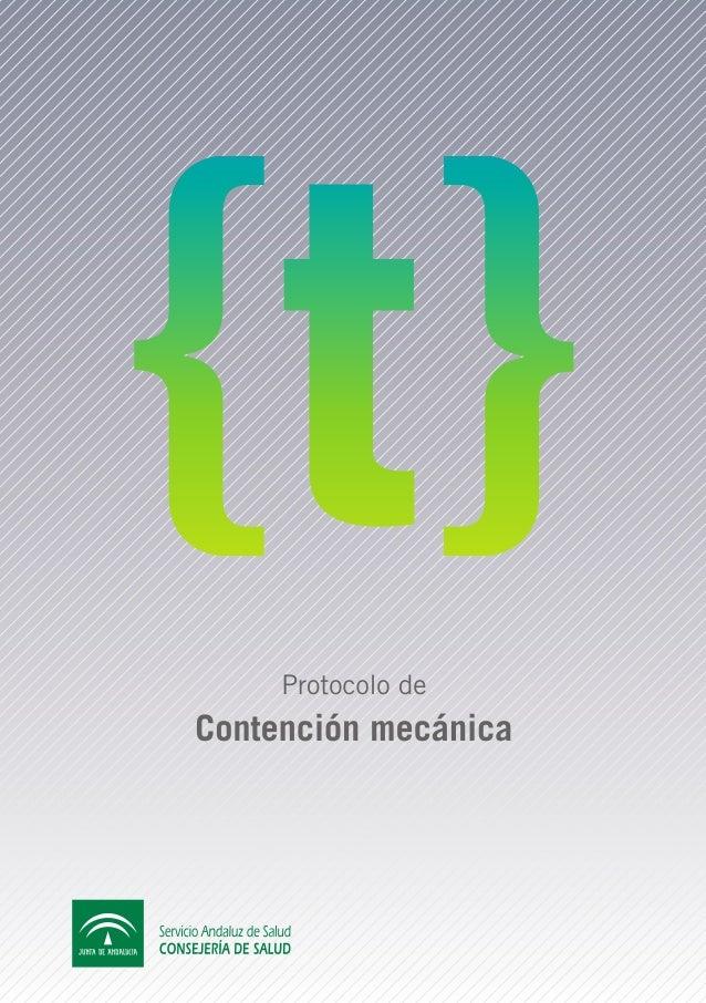 Protocolo deContención mecánica