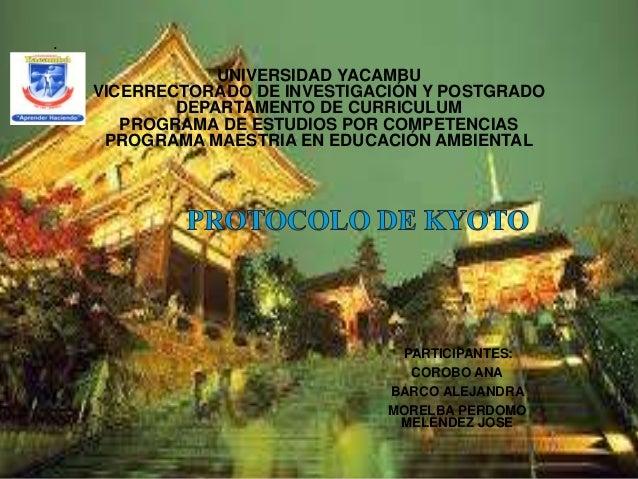 . UNIVERSIDAD YACAMBU VICERRECTORADO DE INVESTIGACIÓN Y POSTGRADO DEPARTAMENTO DE CURRICULUM PROGRAMA DE ESTUDIOS POR COMP...