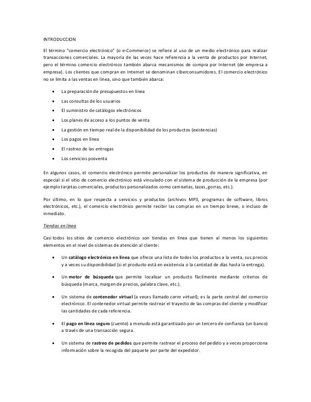 Protocolo e commerce