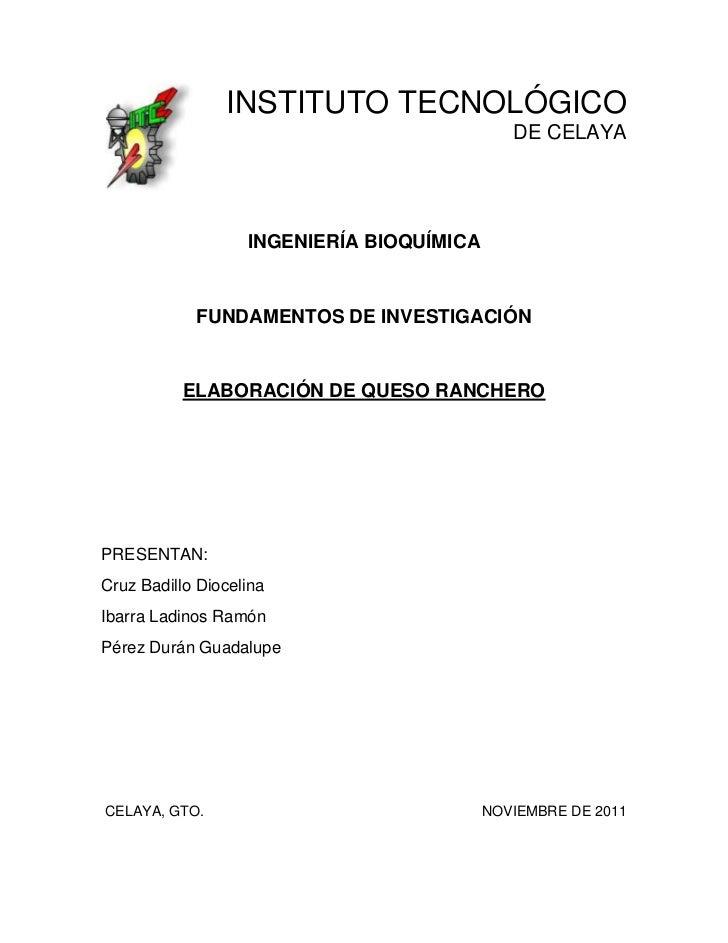 INSTITUTO TECNOLÓGICO                                              DE CELAYA                   INGENIERÍA BIOQUÍMICA      ...