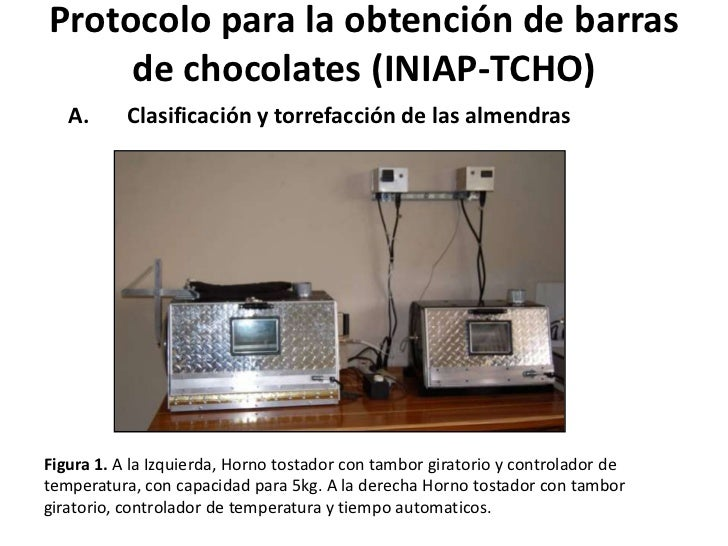 Protocolo para la obtención de barras de chocolates (INIAP-TCHO)<br />Clasificación y torrefacción de las almendras <br />...