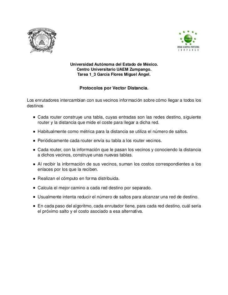 Universidad Autónoma del Estado de México.                        Centro Universitario UAEM Zumpango.                     ...
