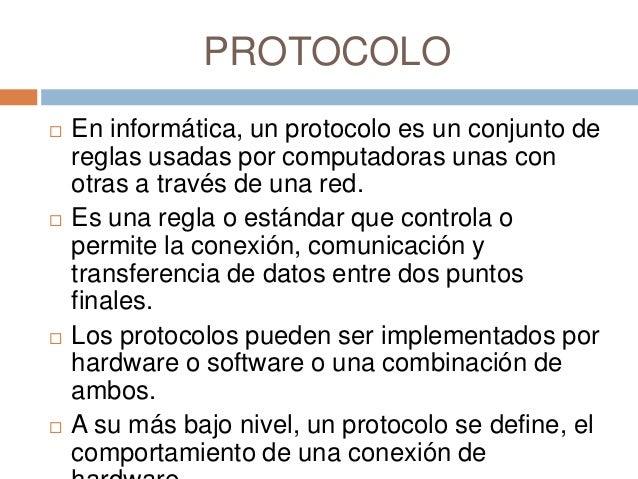 Protocolos informaticos