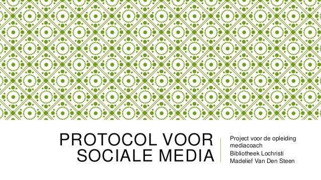 Protocol voor sociale media