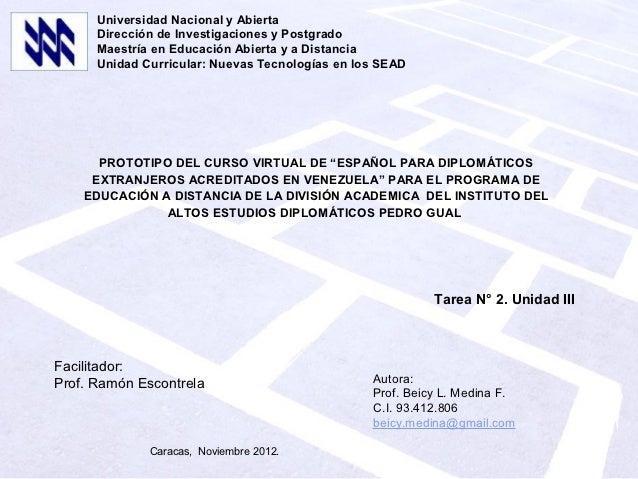 Universidad Nacional y Abierta      Dirección de Investigaciones y Postgrado      Maestría en Educación Abierta y a Distan...