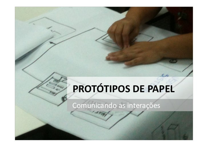Protótipos de papel