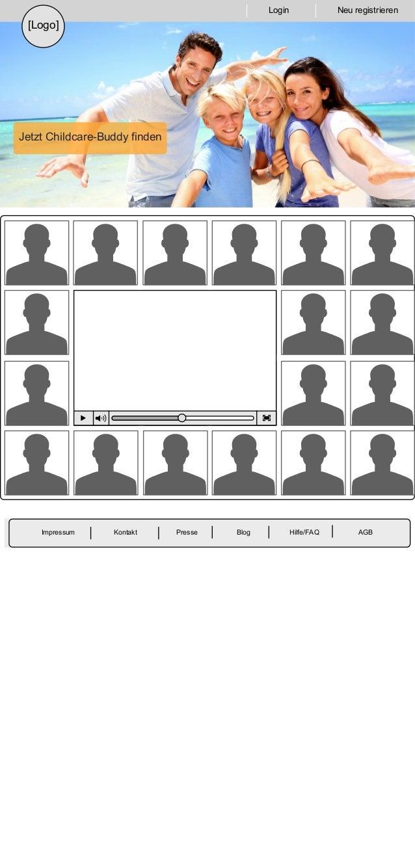 JetztChildcare-Buddyfinden PresseImpressum Kontakt AGBBlog Hilfe/FAQ Login Neuregistrieren [Logo]