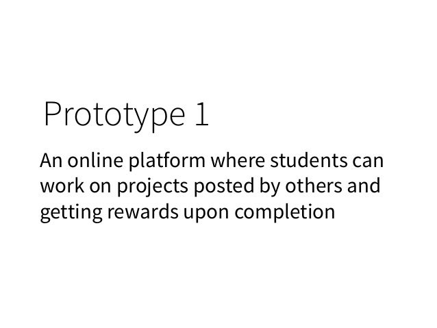 Prototype (Stanford Design Thinking Action Lab)