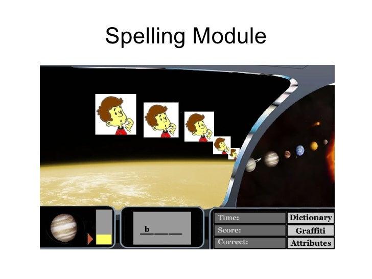 Spelling Module