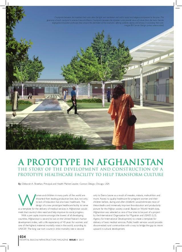 Prototype in afghanistan-Hospital Build Apr 2013