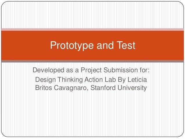 Prototype and Test - Lokesh Sahal