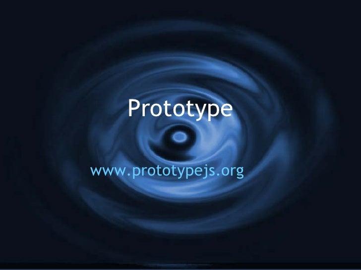 Prototype Seminar