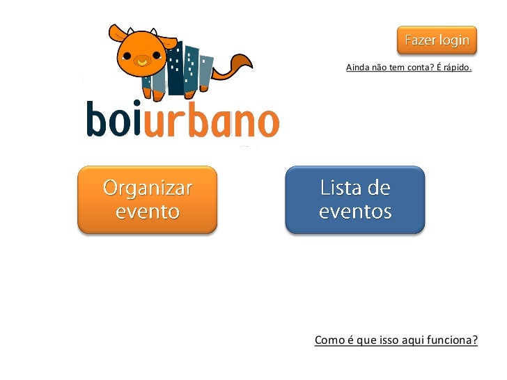 "[ASOSO - UFMG - 2011/2] Aplic. de Soft. Social - [Projeto VI - Tarefa VII e XI] Protótipo do ""Boi Urbano"""