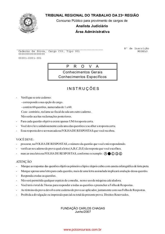 I N S T R U Ç Õ E S A C D E - Verifiqueseestecaderno: -correspondeasua opçãodecargo. -contém60questões, numeradasde1a60. C...