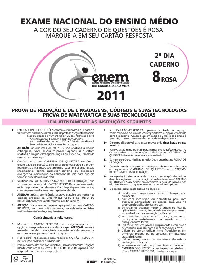 Prova enem-rosa-2011-2dia