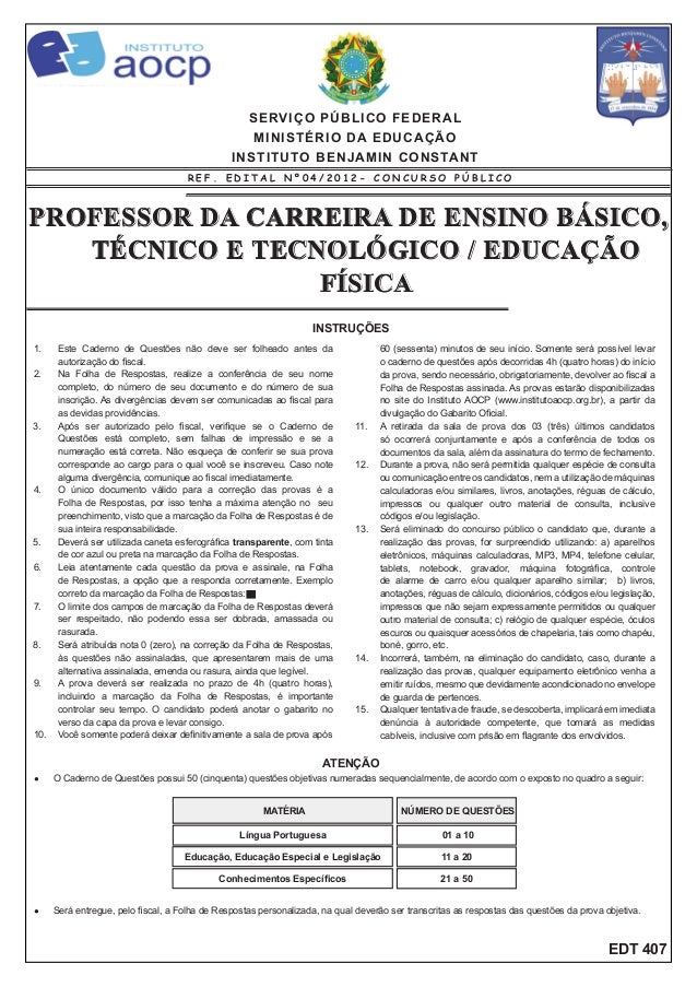 Prova ibc 03 02-13