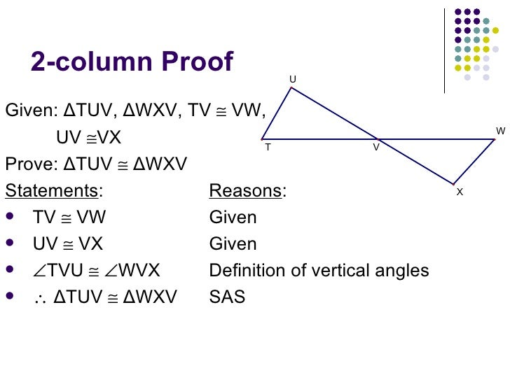 Proofs involving isosceles triangles theorems exles and