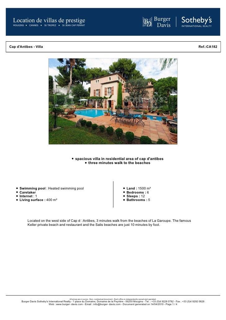 Provencal luxurious villa cap d antibes for rent close to beaches on cote d'azur