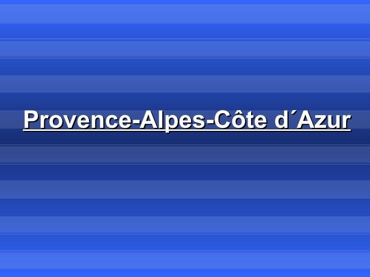 Provence-Alpes-Côte d´Azur
