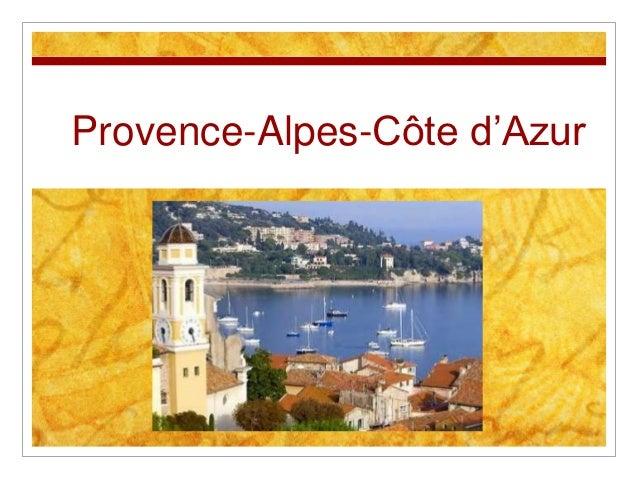 """Provence-Alpes-Côte d""""Azur"""