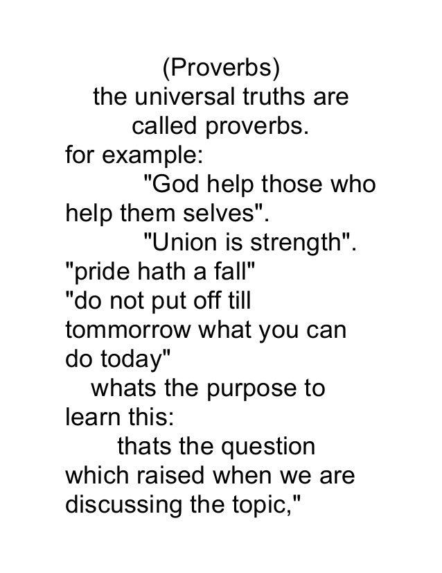 Proverbs123